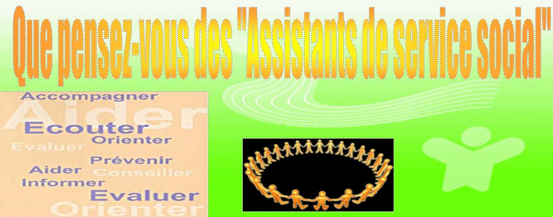 Représentations de l'Assistant Social