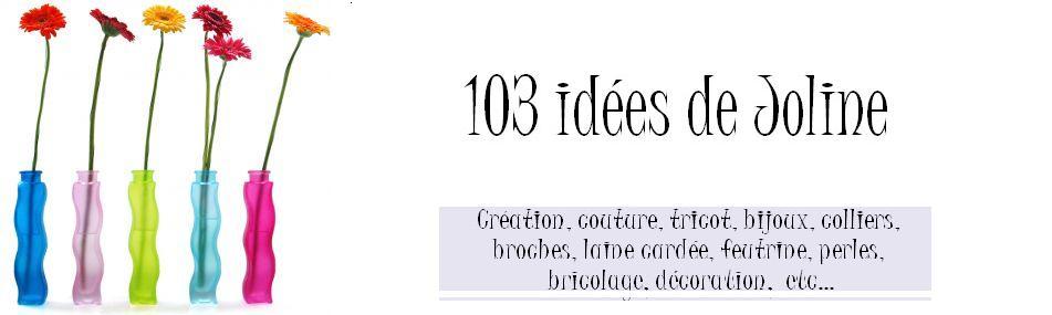 103 id es de joline cr ations couture customisation for Site decoration maison gratuit